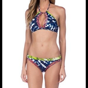 La Blanca High Neck Bikini Set NWT! 👙